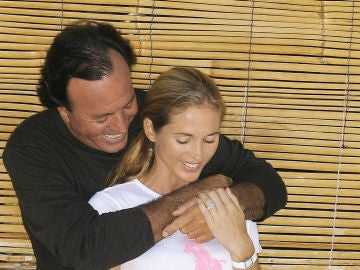 Julio Iglesias y Miranda Rijnsburger