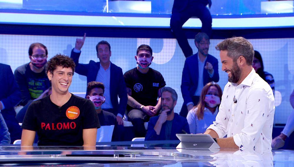 "La primera vez de Roberto Leal y Eduardo Casanova: ""¿Estás nervioso?"""