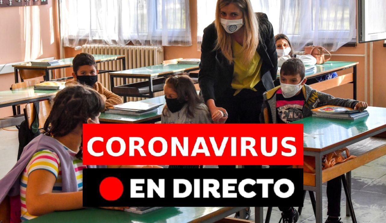 Coronavirus España: Última hora, datos y últimas noticias de hoy, en directo