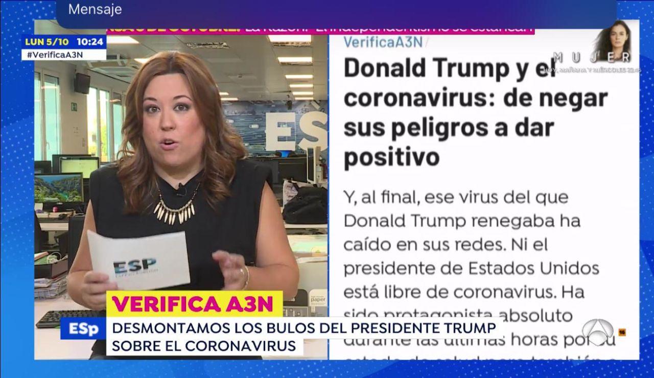 Donald Trump y el coronavirus
