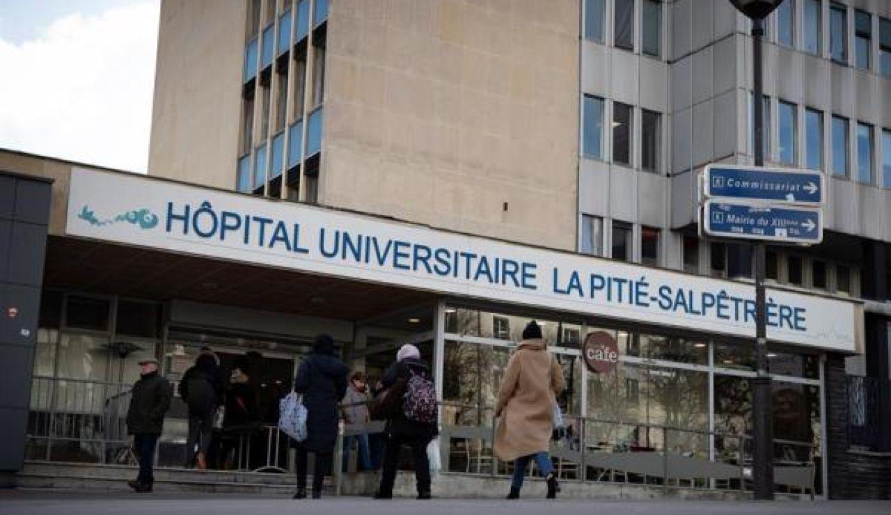 Imagen de archivo de un hospital en París
