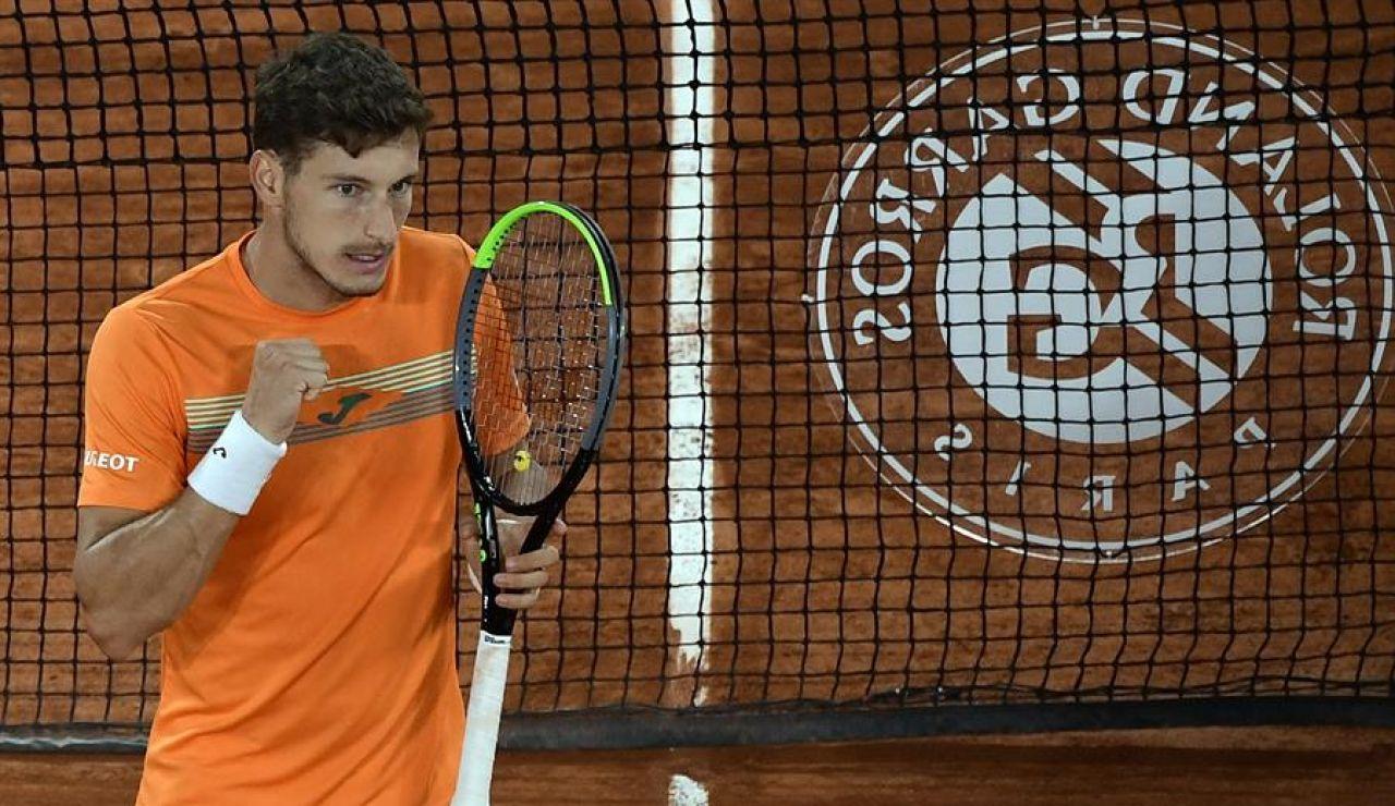 Pablo Carreño vence a Altmaier y se cita con Djokovic en cuartos de final de Roland Garros