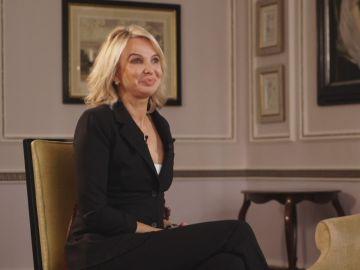 Corinna durante la entrevista en la que habla con su relación con el Rey