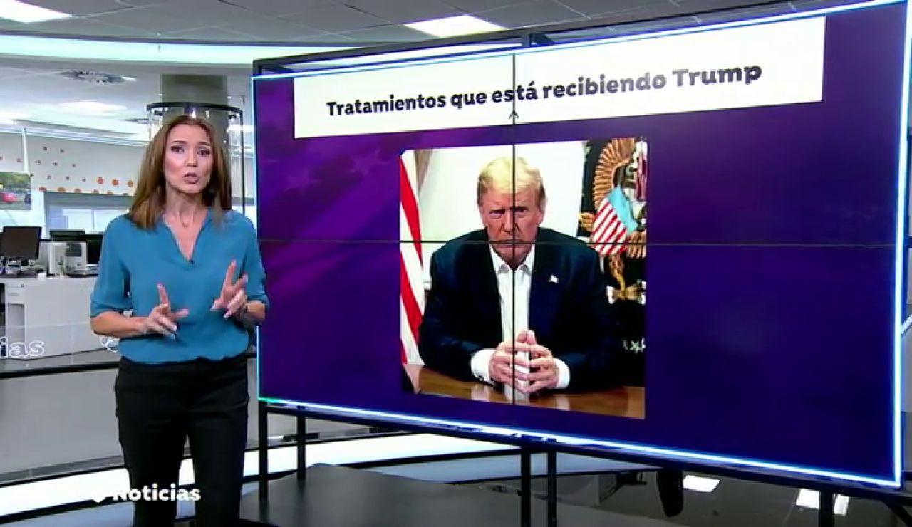 ¿En qué consiste el cóctel de anticuerpos con el que están tratando a Donald Trump?