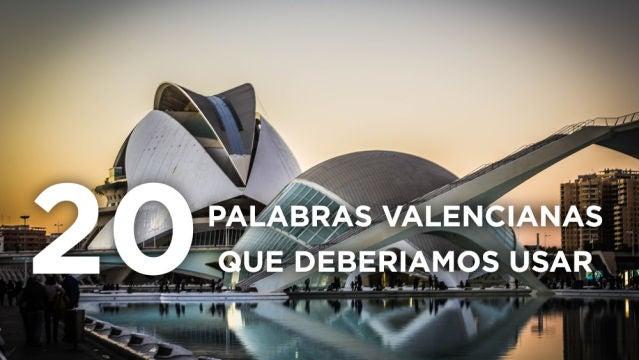 Palabras valencianas