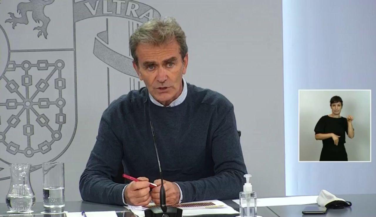 """Fernando Simón informa que """"ha subido el número de contagiados de coronavirus en las personas de más de 60 años"""""""