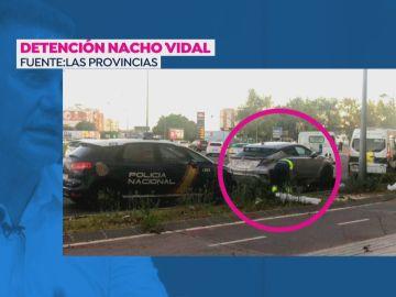 Nacho Vidal, detenido.