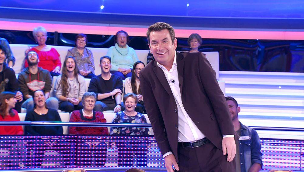 El llamativo detalle de una señora del público de '¡Ahora caigo!' que no ha pasado desapercibido para Arturo Valls