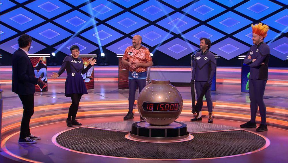 Los cuatro fantásticos: 'Los dispersos' se visten de superhéroes por sus 200 programas