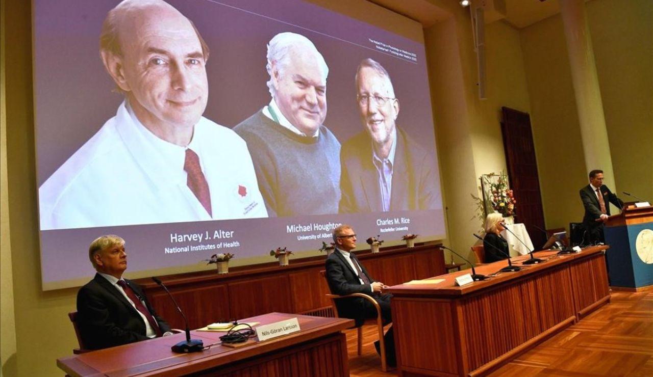 El premio Nobel de Medicina 2020 es para los descubridores del virus de la hepatitis C