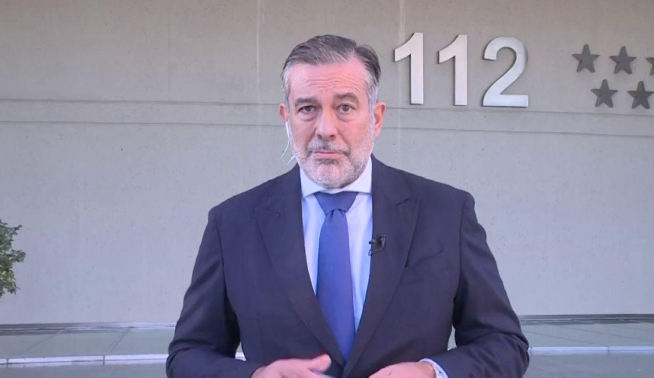 """Enrique López, consejero de Justicia: """"Cuestionar los datos de Madrid, es cuestionar al personal sanitario"""""""