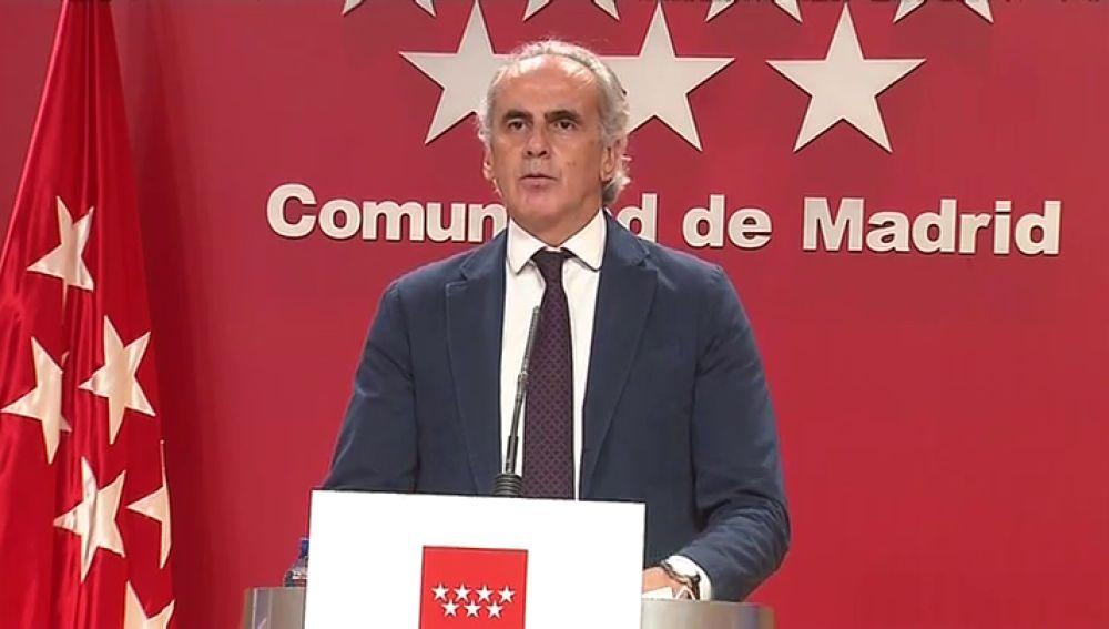 """Enrique Ruiz Escudero, sobre la Comunidad de Madrid: """"Hemos solicitado a Salvador Illa que reconsidere la orden de la semana pasada"""""""