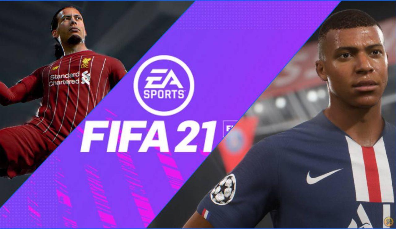 Portada del FIFA 21