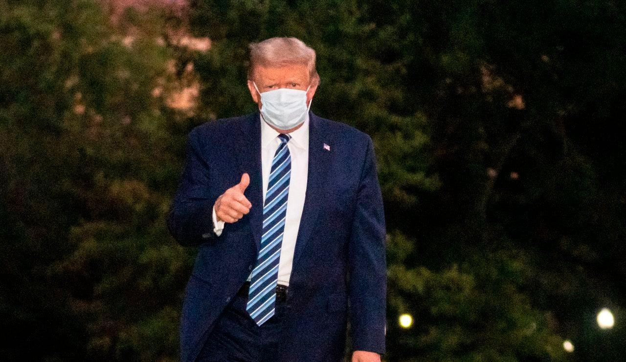 Donald Trump, tras salir del hospital