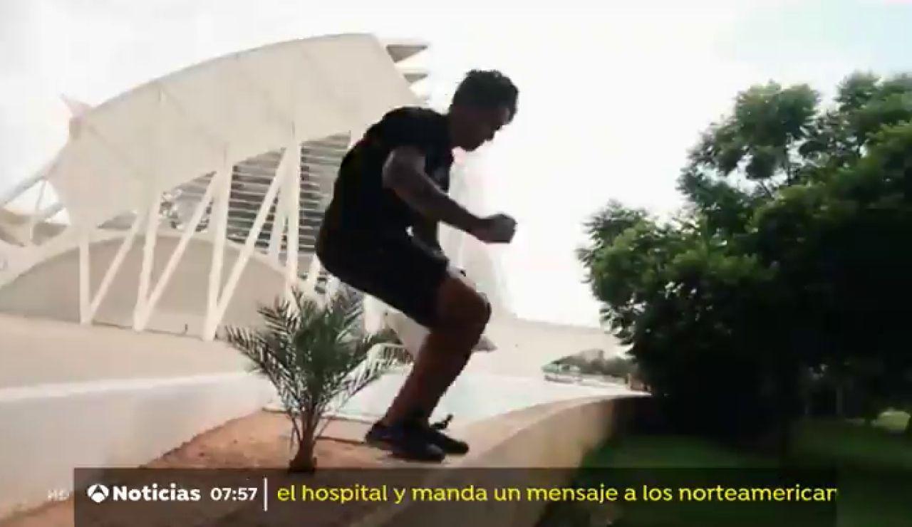 La Federación de Gimnasia de Valencia quiere crear un parkour competitivo