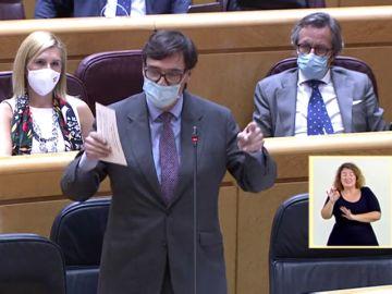 """El PP acusa a Salvador Illa de actuar en Madrid por """"revanchismo político"""""""
