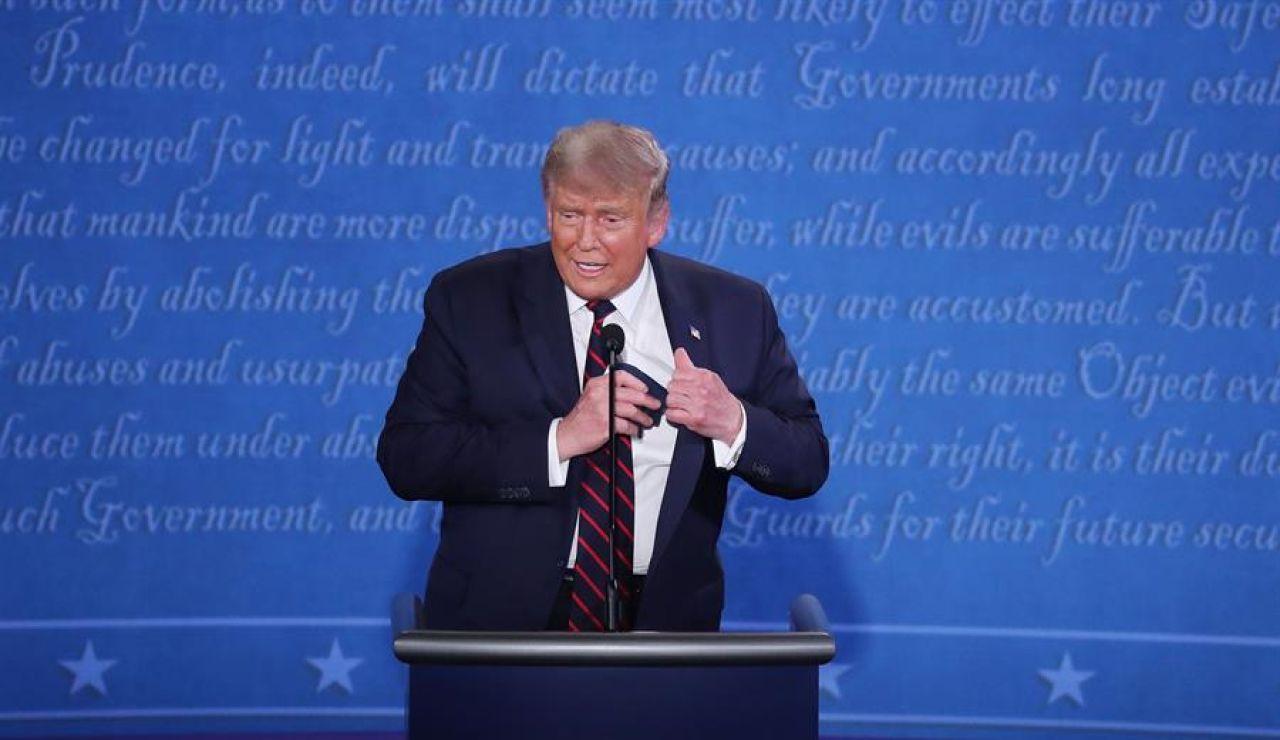 """Donald Trump anuncia su intención de participar en debate electoral contra Joe Biden el 15 de octubre: """"Estoy deseando"""""""