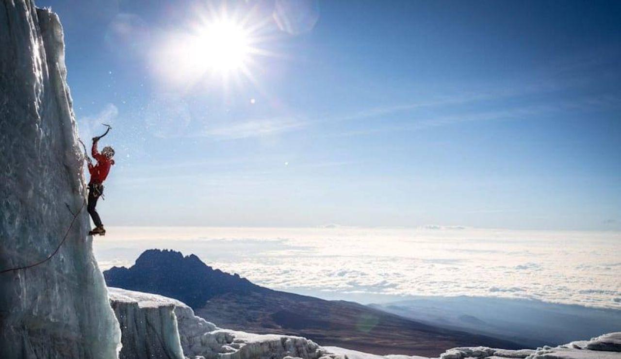 Will Gadd, en el Kilimanjaro
