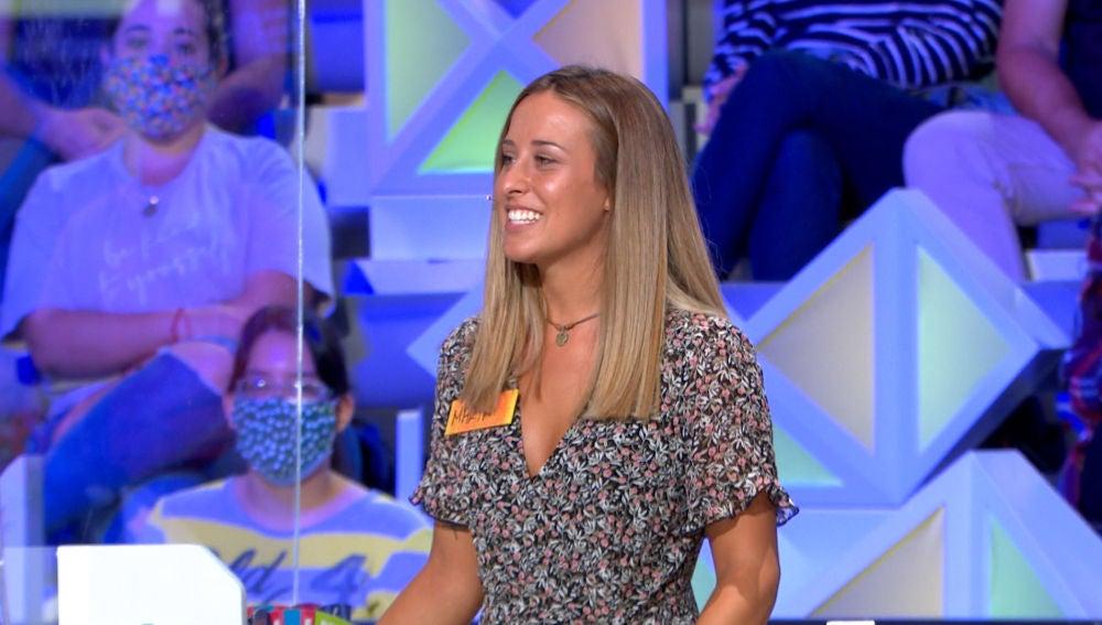 """La ilusión de María por concursar en 'La ruleta de la suerte': """"Es mi programa favorito desde la infancia"""""""