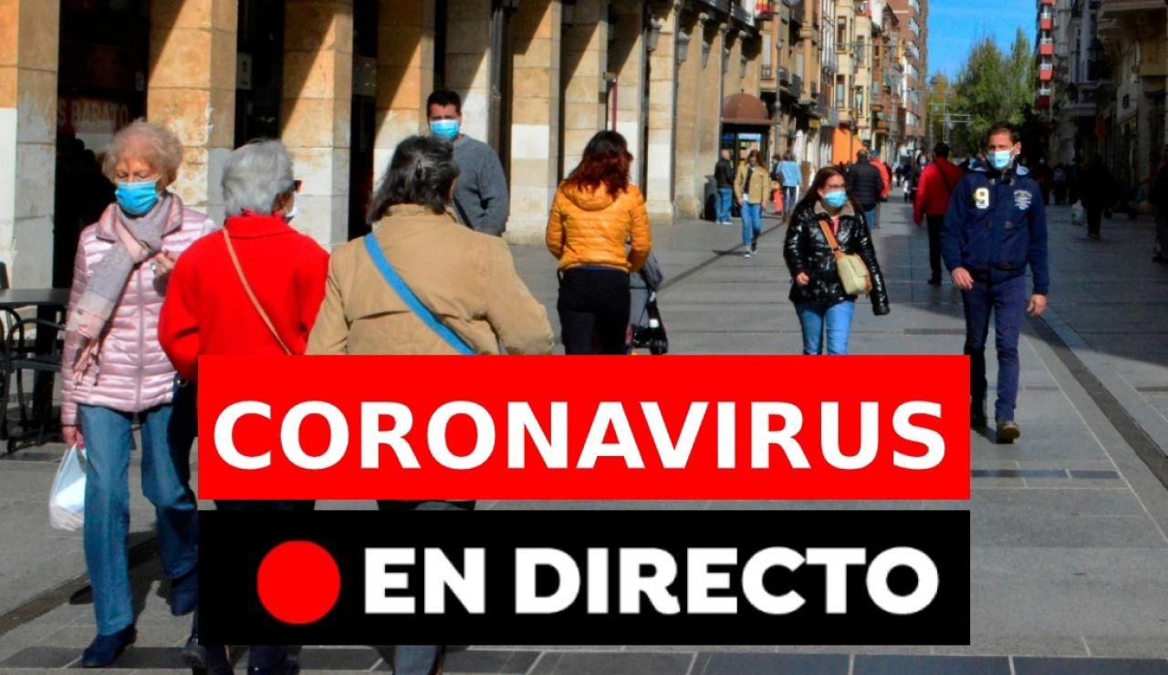 Coronavirus España hoy: Confinamiento de Palencia, León y Madrid, restricciones, nuevos casos y última hora, en directo