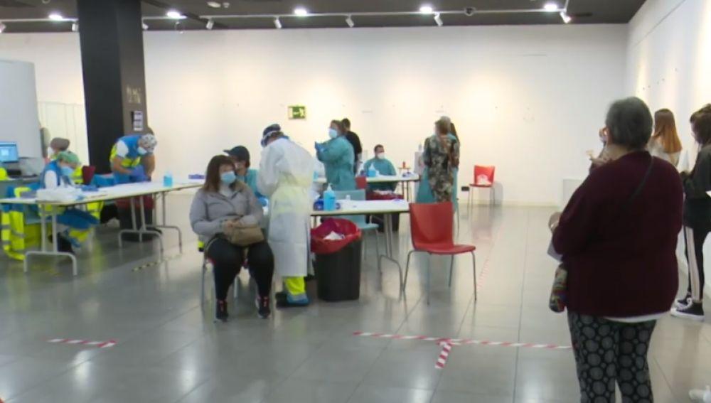 Test masivos en Vallecas