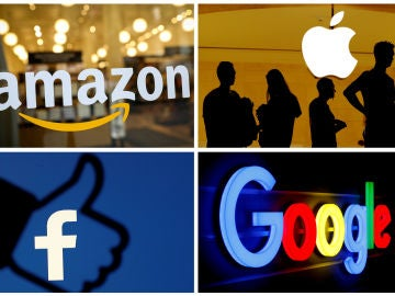 Estados Unidos acusa de monopolio a Amazon, Apple, Facebook y Google