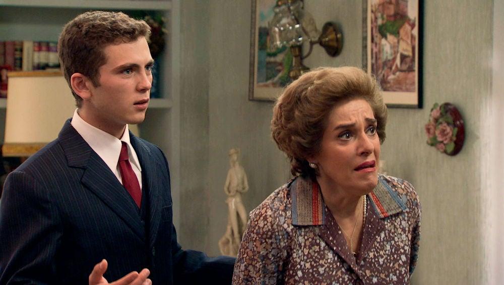 Benigna, aterrada al temer que Manolita haya cometido una locura el día de la boda de su hijo