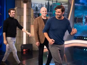 Disfruta de la entrevista completa a Raúl Arévalo, Roberto Álamo y Álex García en 'El Hormiguero 3.0'