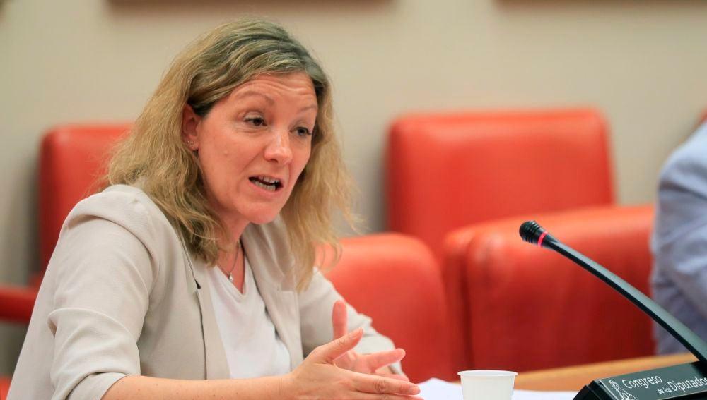 La secretaria general de Cáritas, Natalia Peiro