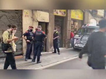 Golpe a la venta de heroína en el Raval, Barcelona