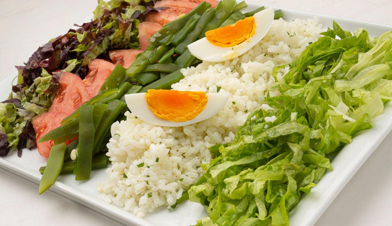 Receta de ensalada de arroz, de Karlos Arguiñano