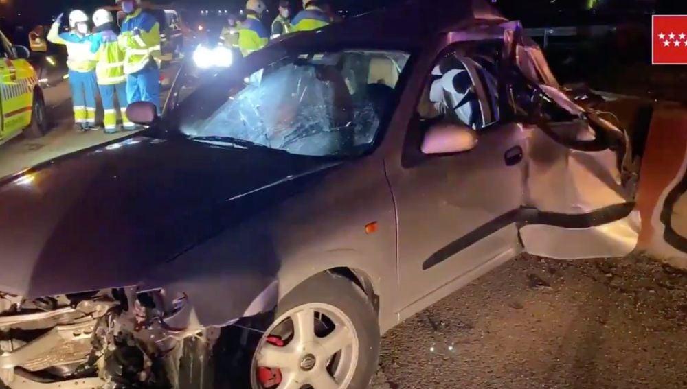 Accidente de tráfico en Getafe