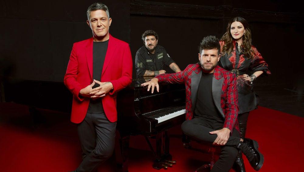 Escucha la playlist al completo de los temas esenciales para los coaches de 'La Voz'