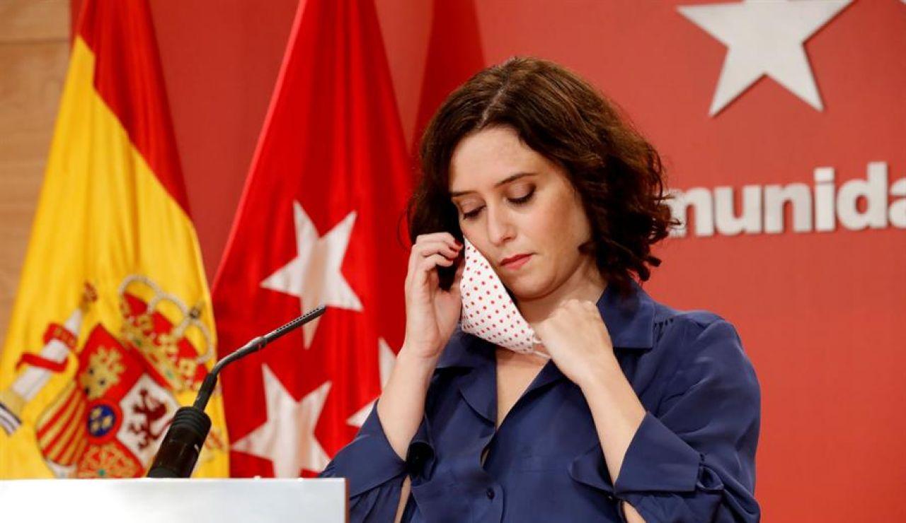 Estado de alarma Madrid: Las 3 opciones que da Pedro Sánchez a Isabel Díaz Ayuso