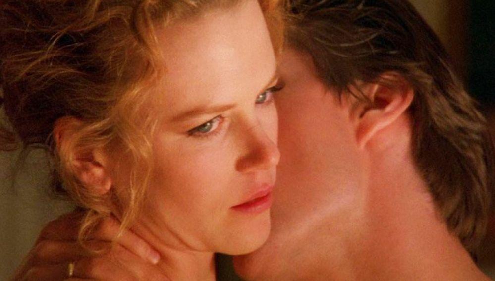Nicole Kidman y Tom Cruise en 'Eyes Wide Shut'