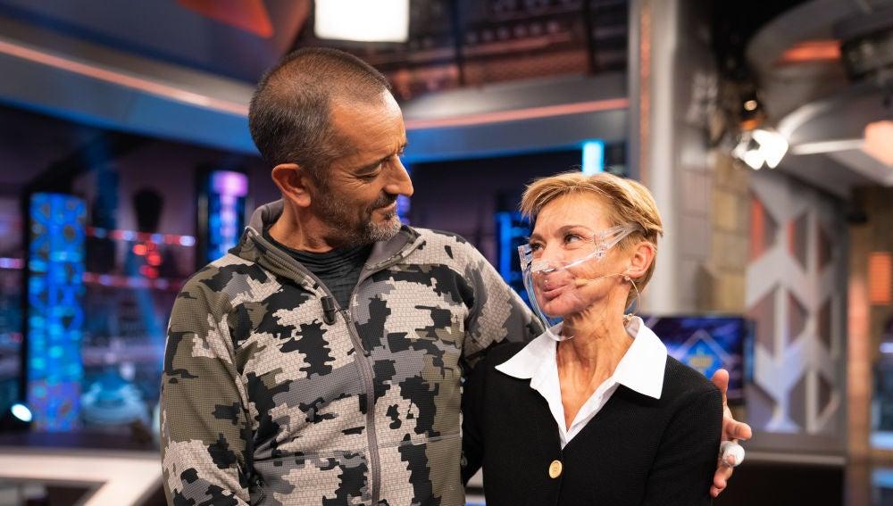 El emotivo reencuentro entre Pedro Cavadas y Aurora, la paciente a la que salvó de un tumor en la mandíbula