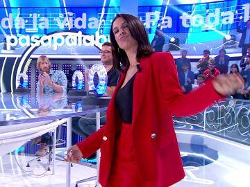 """Ruth Lorenzo  y Xenia Tostado se dejan llevar por Don Patricio tras rendirse en 'La Pista': """"El baile no nos lo quita nadie"""""""