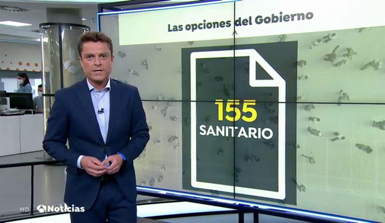 ¿Puede el Gobierno aplicar un 155 sanitario en Madrid para imponer las restricciones de movilidad por el coronavirus?
