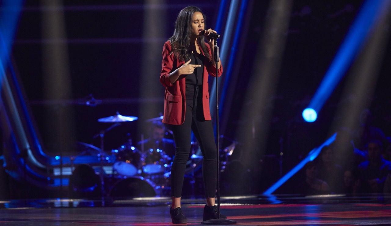 Patricia Kaninga, potente voz con 'Freedom' de Beyoncé en las Audiciones a ciegas de 'La Voz'
