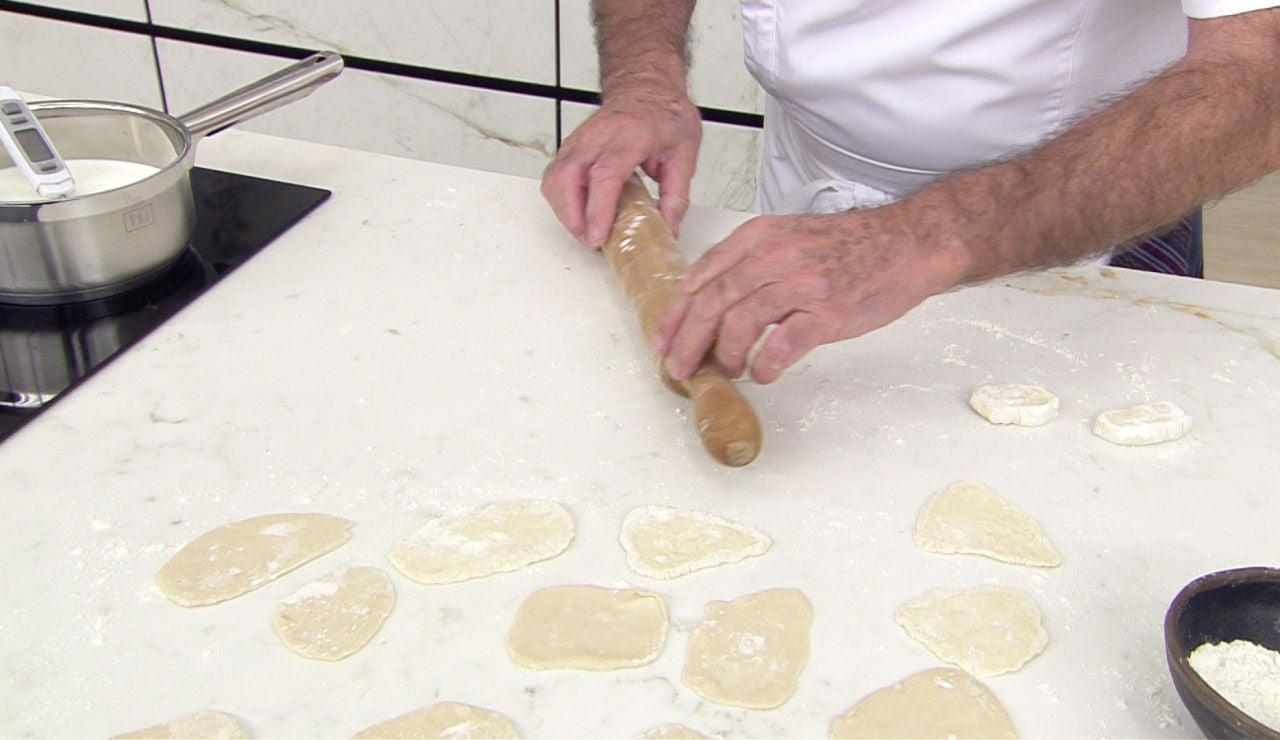 ¿Cómo se elaboran los andrajos y qué función cumplen en las recetas?