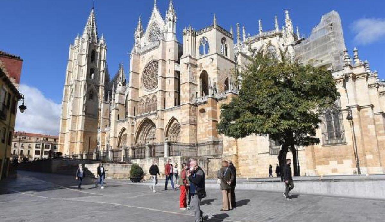 Imagen de archivo de la catedral de León