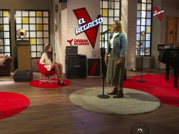 Sabela Trigo interpreta 'Primavera anticipada' en 'El Regreso'