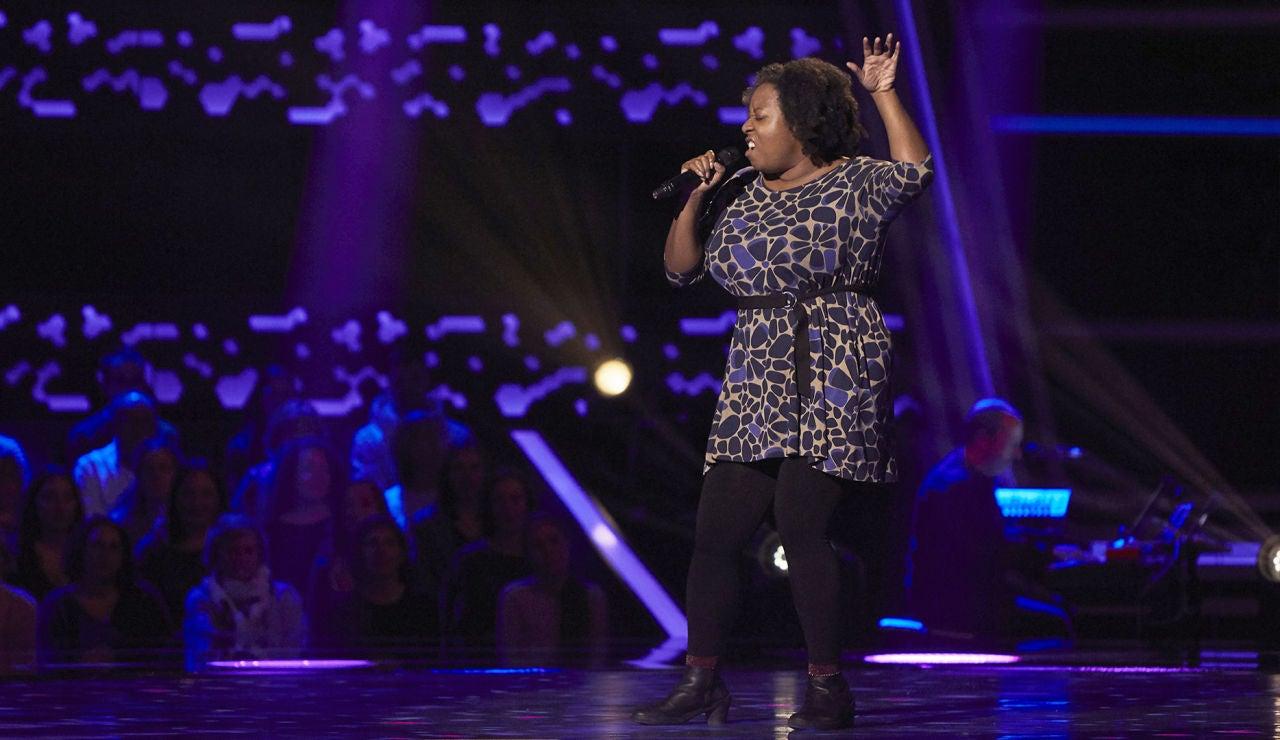 Leora Glasgow, ritmo del soul con 'Miss Celie's Blues' en las Audiciones a ciegas de 'La Voz'