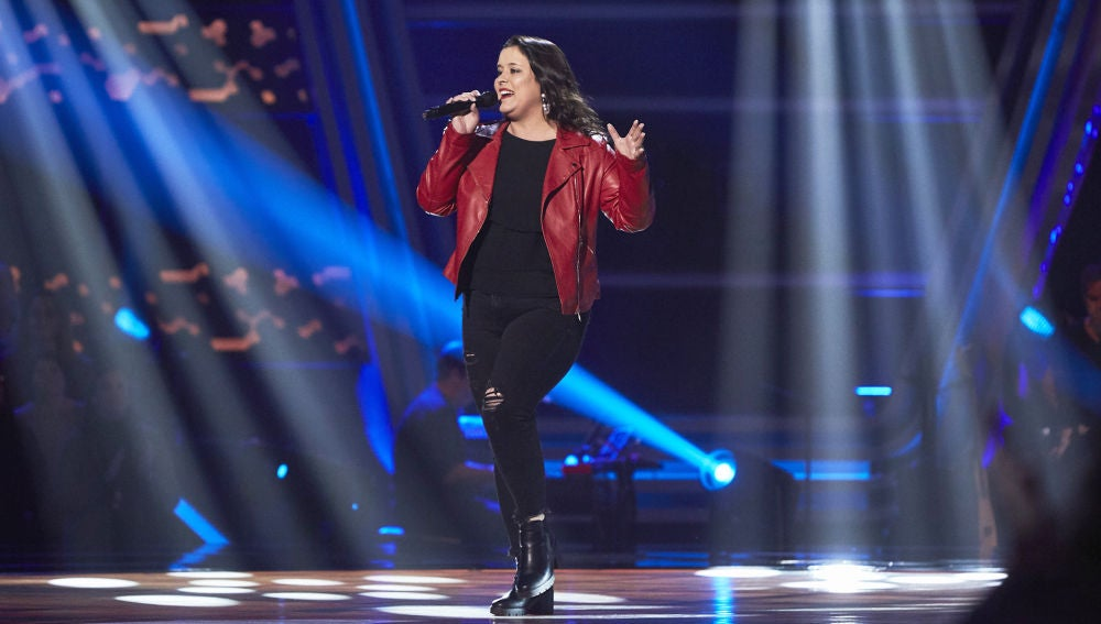 Aixa Romay, cañera y rompedora con 'Simply the best' en las Audiciones a ciegas de 'La Voz'