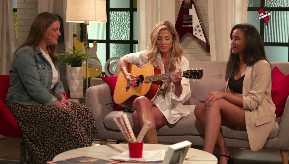 Miriam Rodríguez canta con Sabela Trigo y Patricia Kaning en 'El Regreso'