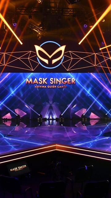 El plató de 'Mask Singer: adivina quién canta'