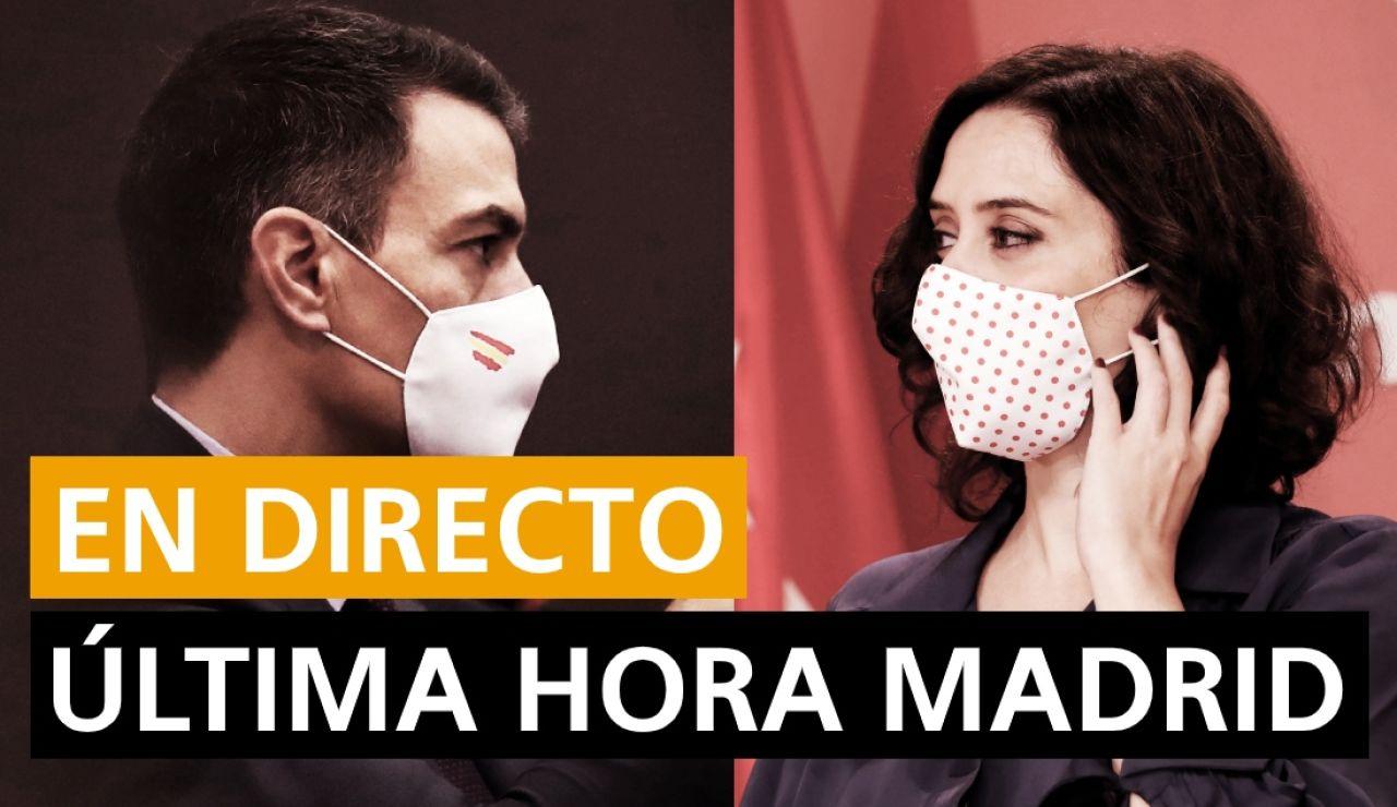 Estado de alarma en Madrid, confinamiento, restricciones y cierre por coronavirus, en directo