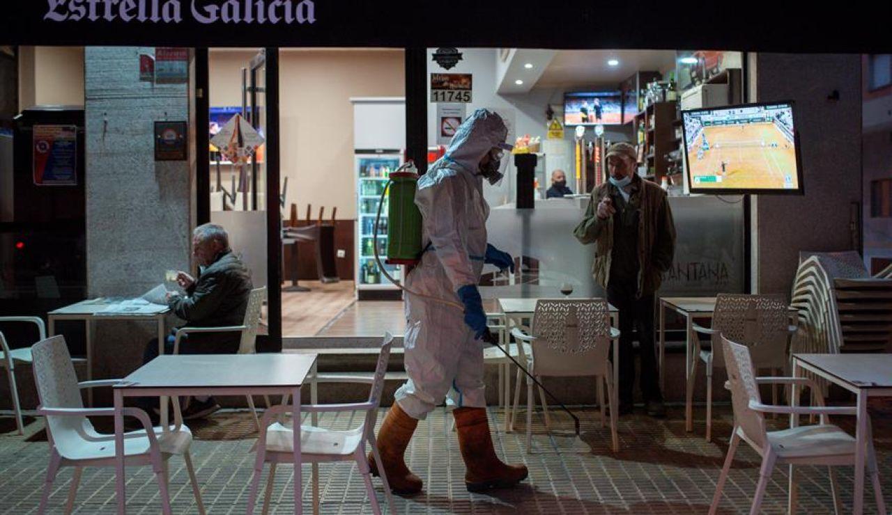 Ourense empieza a trasladar a pacientes Covid a hospitales de Vigo