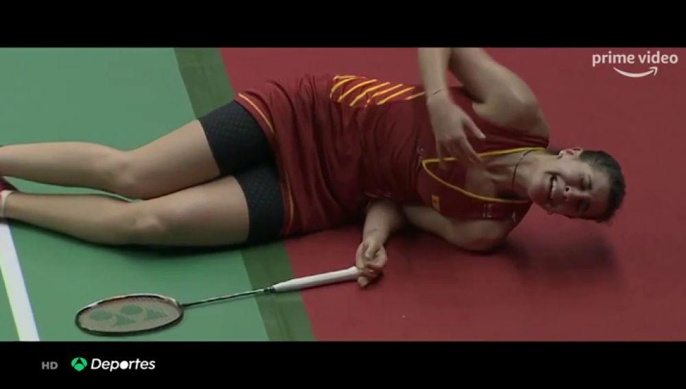 """Carolina Marín habla sobre su grave lesión de rodilla: """"Se me caía el mundo encima, me quedo sin JJOO y sin nada"""""""