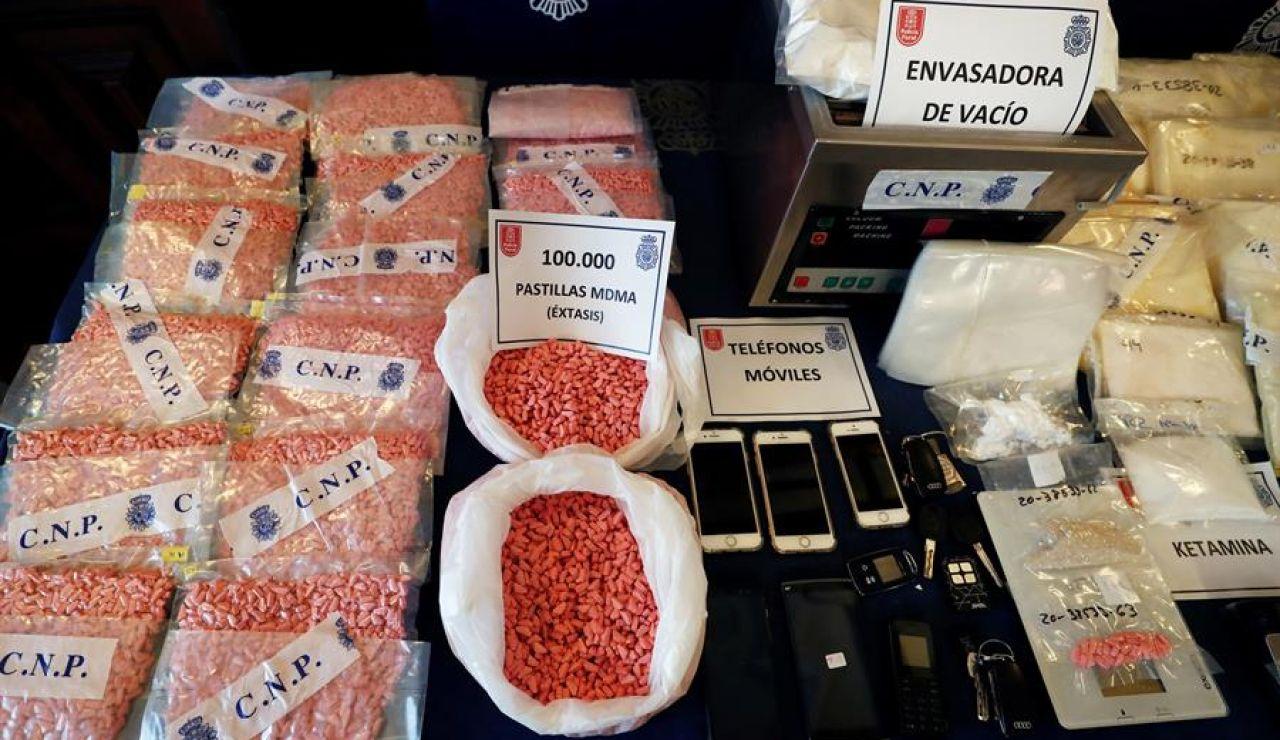 Intervenido el mayor alijo de drogas sintético en Navarra